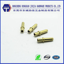 Factory mass production custom electrical brass pin header connector