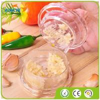 Garlic Ginger Mince Press Peeler Crusher Twist box Kitchen Tool Helper Easy Used M2