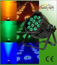 18pcs 5in1 rgbaw 10w led par professional dj equipment 18pcs 5in1 led par wash dmx512 control