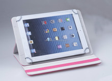 Universal rotating PU Leather case for Ipad and any 9.7''MID 10.1''Tablet PC
