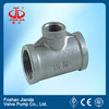 A234 wpb plastic pipe reducing tee with high quality