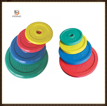 Color Rubber Olympic weight Plate / Fitness equipment
