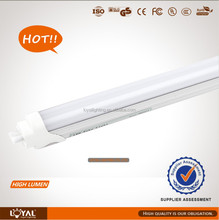 18w LED T8 Tube 1200mm,4ft CE ROHS approved,80-90lm/w high brightness