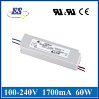60W Constant Current/Voltage led driver by 0-10V/PWM Dimming,pwm led driver 220v