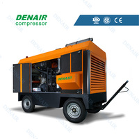 energy saving 25bar mobile compressor diesel with CE,ISO certificate