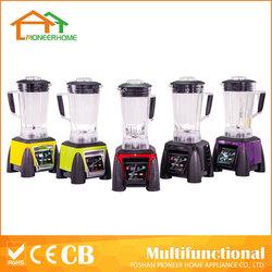 Heavy duty 3 in 1 2L 1300W 3L 1800W 2200W Tritan BPA FREE multifunction food processor commercial blender mixer machine