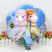Newest flower Anna&Elsa princess balloon foil aluminum printed balloons for children toys birthday party decoration helium globo