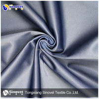 2015 Super tricot 100% polyester brushed golden velvet fabric for sportwear and cloth