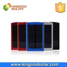 Free Logo Printing Dual USB 30000mah Solar Power Bank Charger with LED light