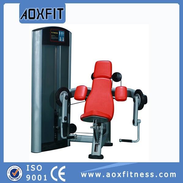 la máquina de fitness gimnasio equipo sentado bíceps curl ax9806