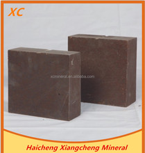 Refractory refractory bricks for cement kilns