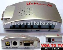 VGA to TV converter box