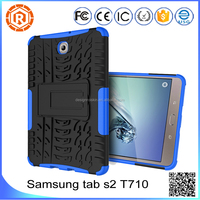 tablet case cover for Samsung tab s2 t710 stand back