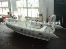 2014 new design with high quality 680cm steering console boat