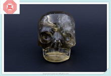 2015 Natural Top Quality Best Seller factory price custom of crystal baby skull