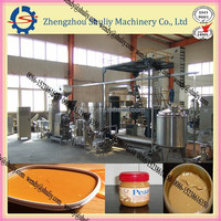 304 stainless steel peanut butter grinding machine product line