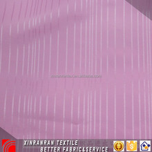 Jacquard polyester imitated silk chiffon fabric for ladies dress