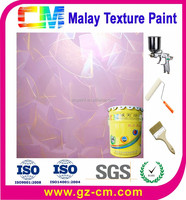 Malay paint- weather resistant concrete wall face coating