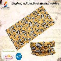 fashion headscarf polyester seamless tubular bandana sportswear for wholesale