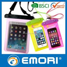 Newest design eco-friendly PVC waterproof bag for iPad