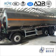 8X2 30000liter Aluminum Alloy Fuel Tanker Truck