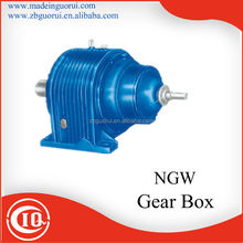 small planetary gearbox NGW series high torque speed reducer for DC motor