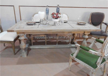 China Factory Supply Wooden Frame Cafeteria Table Dining Table Tables Chairs