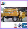 trailer pumpcrete machine new for Sale 30m3/h output 10Mpa pumping pressure 55kw with reasonalbe price factory price