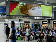 Creative Wave Type P10 led commercial advertising display screen