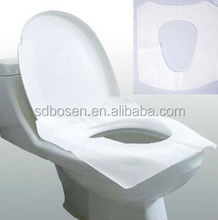 Best price eco-friendly flushable toilet seat paper cover for travelling made of recycle pulp