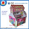 Coin operated Candy Land claw crane game machine
