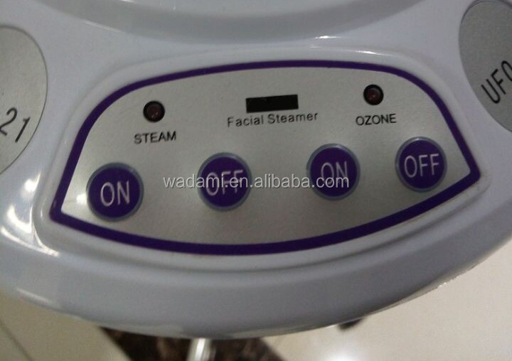 Claimed that, Facial steamer with ozone