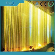 fiber optic waterfall light curtain