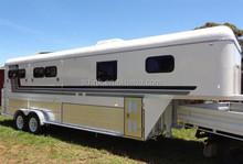3 Horse gooseneck , horse trailer