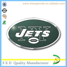 Factory Customize Oval Chrome Finish Auto Metal Emblems