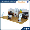 Advertising graphic pop up display stand for trade show