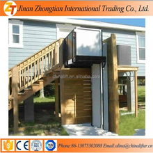 Stair climbing wheelchair lift small home elevator used for disability people