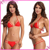 Red Pink Black 3 Colors Fashion Show Sexy Micro Brazillian bikini