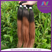 Buy Direct From China Factory Full And Thick #1B/30 Straight Best Ombre Hair