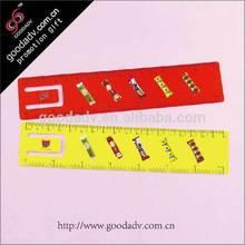 al por mayor alta calidad alta calidad pulgada cm medición Gruesa regla de plástico