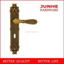 Wenzhou junhe turkish door handles with lock mortise and cylinder