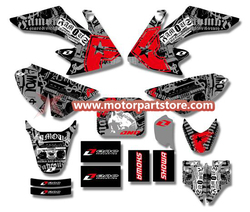 3M GRAPHICS STICKERS for HONDA CRF50 CRF50F 2004-2012 TSX-DGS008