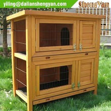 Chinese cedar custom rabbit hutch