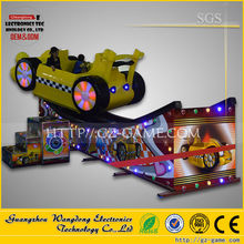 2015 simulation racing game machine/crazy swing around game from wangdong