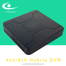 AHD h.264 dvr 8 channel CE ROHS FCC approved