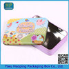 Wholesale Lovely Biscuit packaging tin box,cute stationery case for children