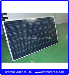 Buy from china online 225W poly solar cell panel