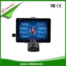 Diagnosis tool car safe trip computer ,GPS navigation, obd trip computer V-checker A622