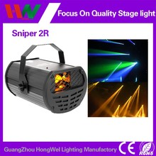 2015 New beam scanner stage light sniper 5r 200w laser lighting at good price