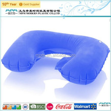 2015 Latest fashion flocked inflatable pillow